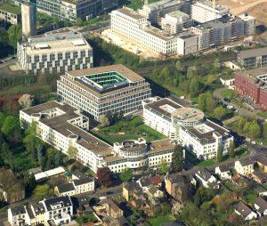 Standort Bonn Luftaufnahme